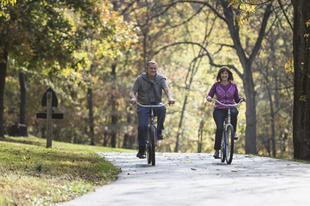Biking Dogwood Nature Park